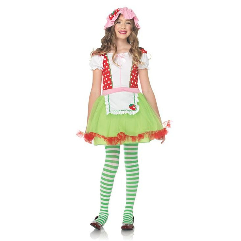 strawberry sweetie 2 piece child costume strawberry. Black Bedroom Furniture Sets. Home Design Ideas