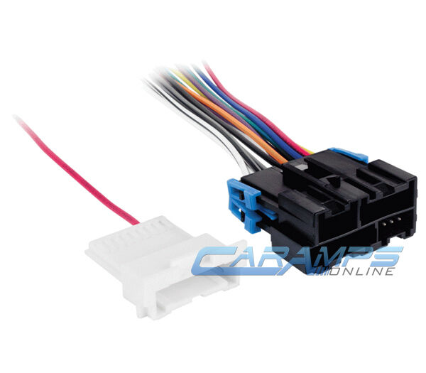 Car Truck Stereo Cd Player Radio Wiring Harness Adapter W
