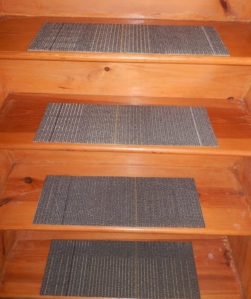 13 Indoor Outdoor Stair Treads Non Slip Staircase Step Rug Carpet 8 X 24 5 Ebay