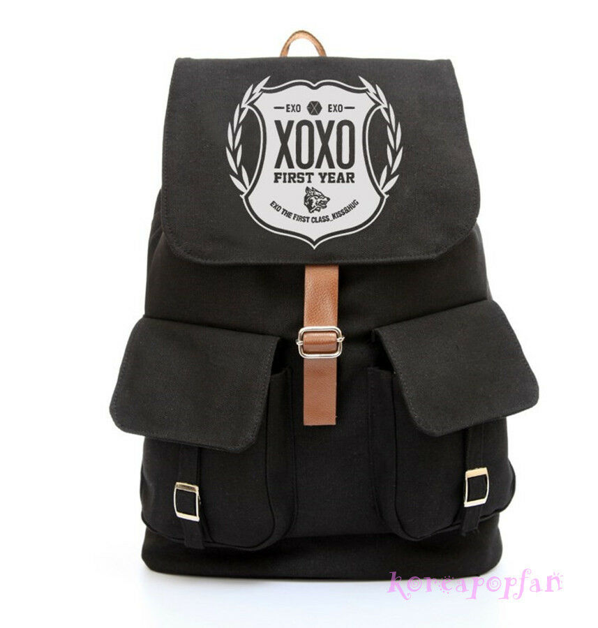 EXO XOXO WOLF SEHUN KAI KRIS FIRST YEAR BLACK CANVAS ...