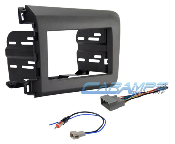 Car Stereo Wiring Harness Kit : Civic single double din car stereo radio installation dash