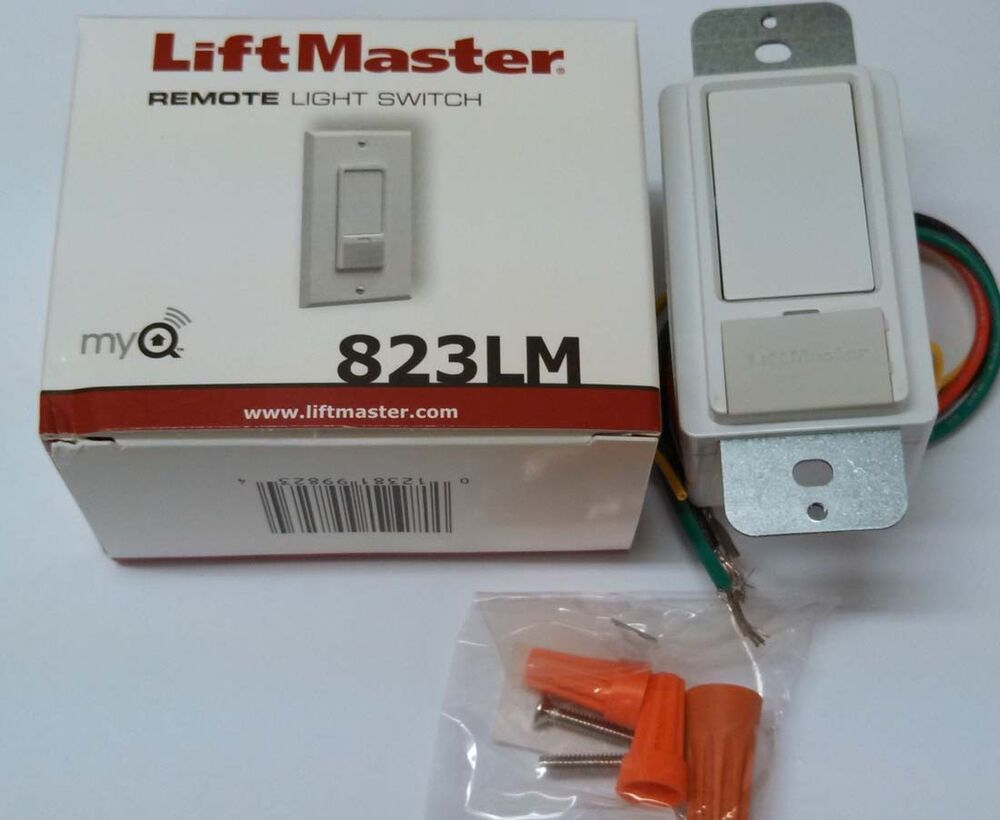 823lm liftmaster remote light switch security 2 0 myq technology compatible ebay. Black Bedroom Furniture Sets. Home Design Ideas