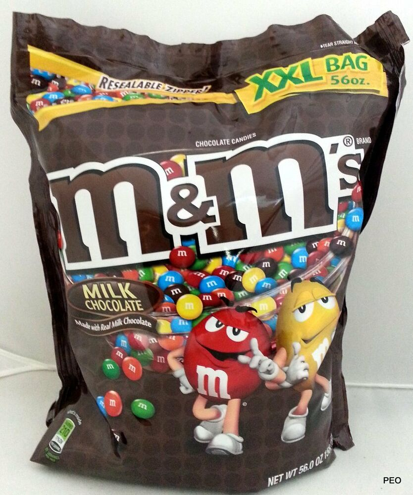 ... oz M & M M&M Bag Bulk Candy Chocolate Candies Vending Free Ship |...
