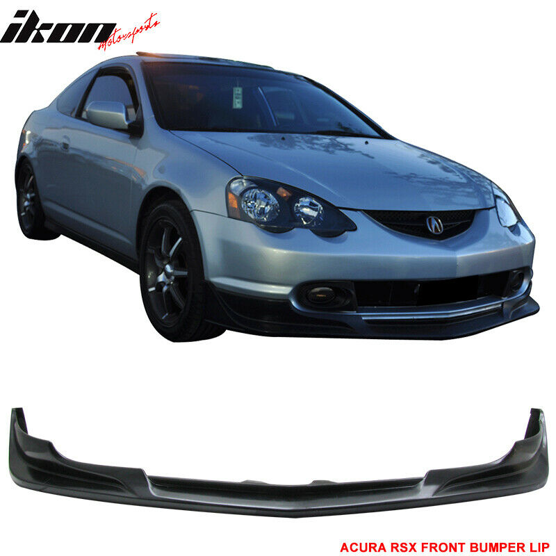 Fits 02-04 Acura RSX C-West Style Front Bumper Lip Spoiler
