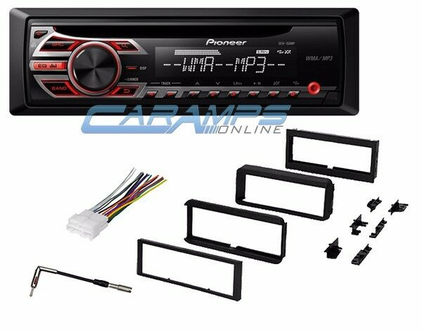 Pioneer Car Stereo Radio Cd Player With Complete Dash