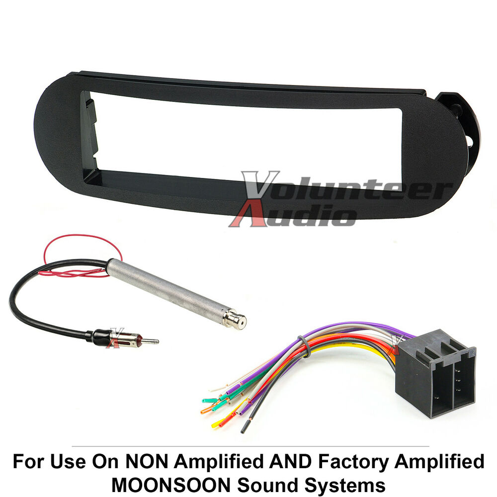 Volkswagen Wiring Harness Stereo : Vw bug car stereo radio kit dash installation mounting