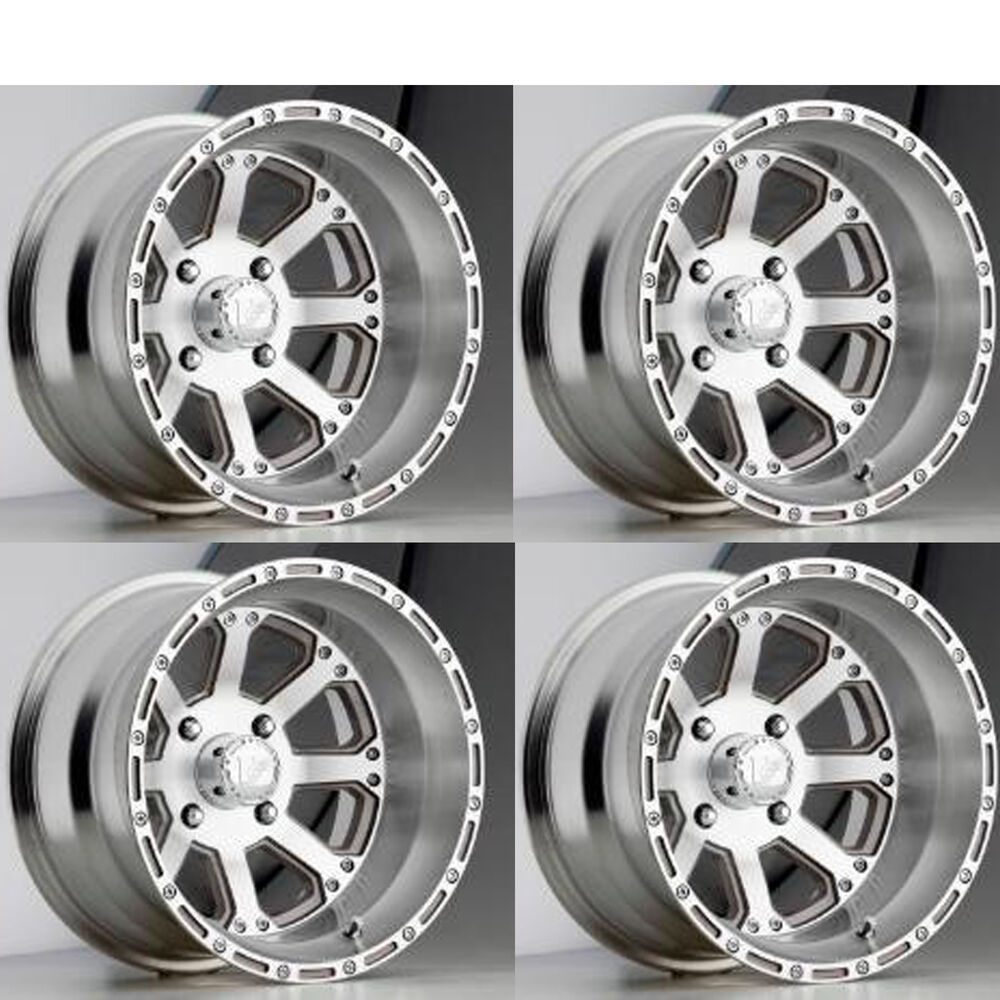 10 Inch Wheels For Golf Cart : Inch diameter aluminum rims wheels for lifted
