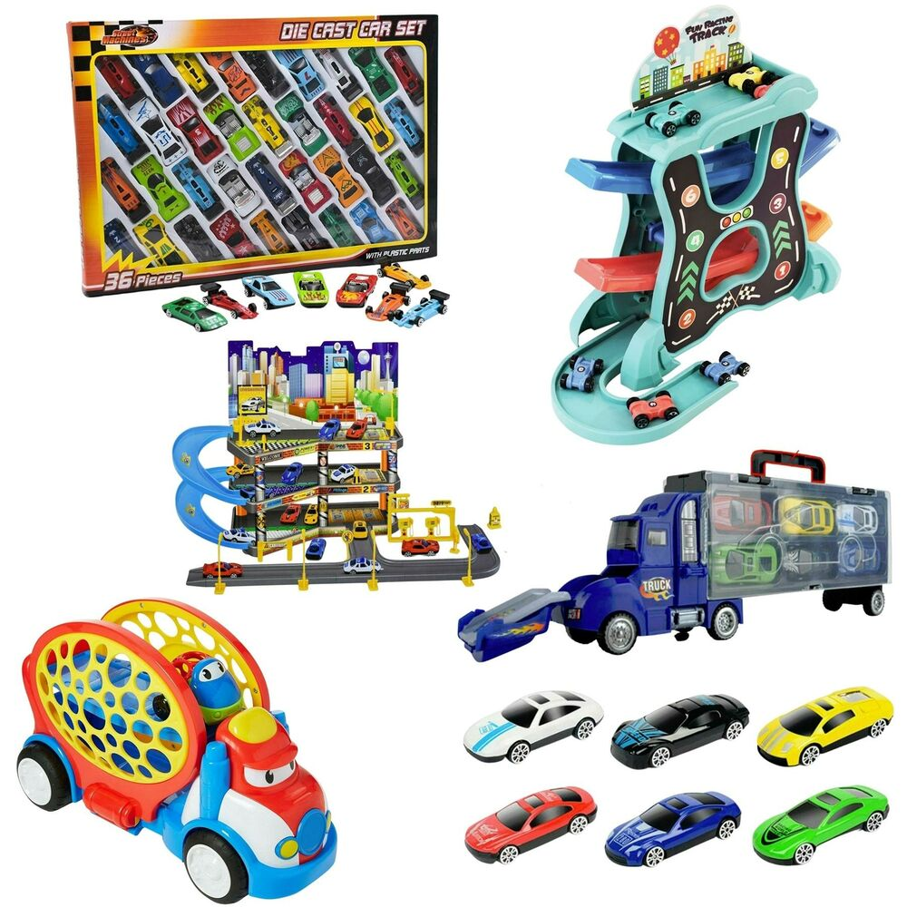 NEW Die Cast F1 Racing Cars Vehicle Play Set Toy Car