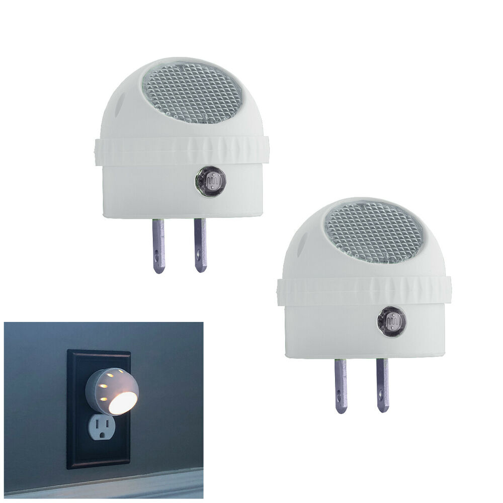 2 Pack Led Guide Night Light With Rotating 360 Swivel And