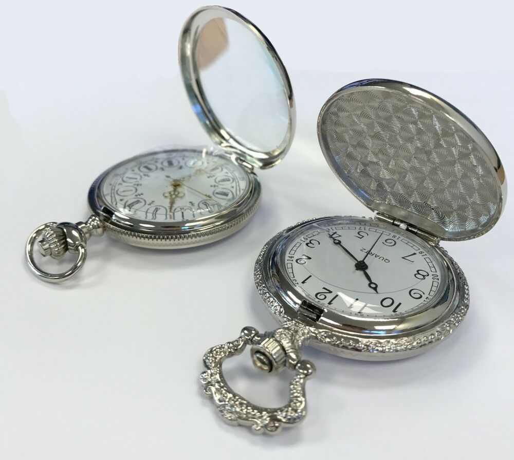 Silver Wedding Gifts Ideas: Unique Silver Pocket Watches