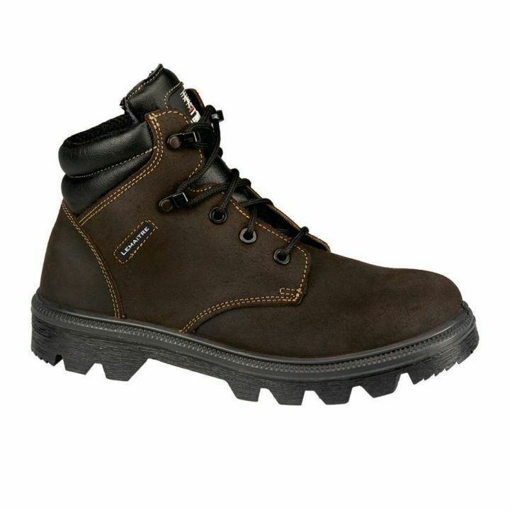 mens steel toe cap safety work boots by mig size 3 to 13