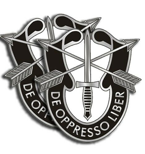 Army Special Forces Sticker Military Dye Cut Decal 2