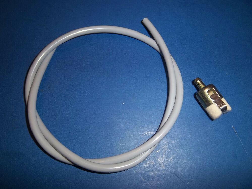 Fuel Systems For Blowers : New homelite fuel line hose filter fits blowers
