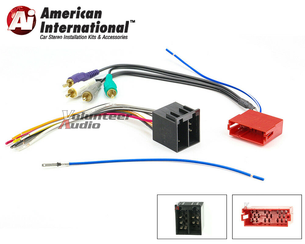 Gps Wiring Harness Simple Guide About Diagram Audi Vw Car Stereo Cd Player Wire Garmin