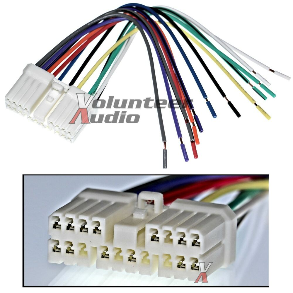 Daewoo Wiring Harness Simple Guide About Diagram Leganza Suzuki Gm Plugs Into Factory Radio Car Stereo Cd Player Lanos Matiz