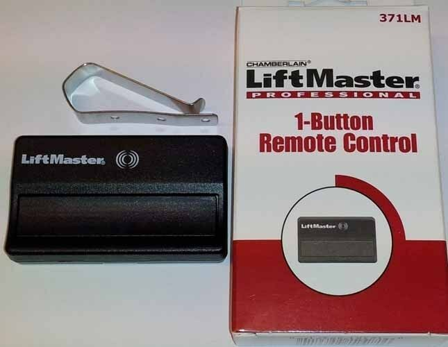 Sears craftsman  one button garage door opener