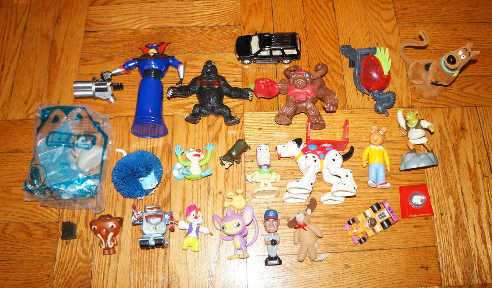 Action Toys For Boys : X action figure lot boys toys disney mattel barbie