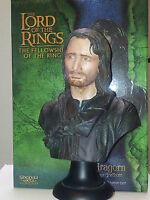 Lord of the Rings LOTR Sideshow WETA 1:4 scale bust ARAGORN Fellowship