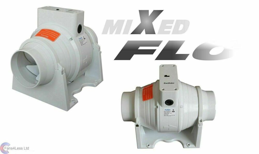 Sale Xflo100t Timer Fan In Line Mixed Flow 4 39 39 100mm Dia