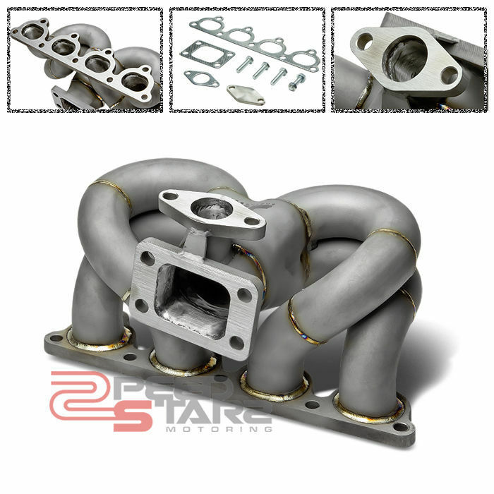 J2 HONDA D15/D16 D-SERIES SOHC STAINLESS TURBO EXHAUST RAM