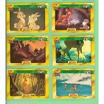 #D75.  DISNEY CLASSIC  STORY CARDS - BAMBI, CARDS 25 to 30