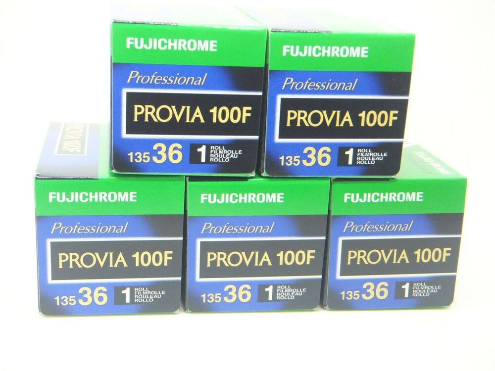 5 x fujichrome provia 100f 35mm 36 exp cheap slide film by for What is provia