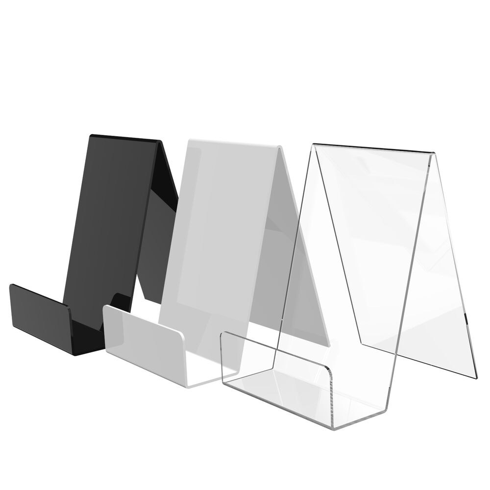 Acrylic Book, Plate, Phone Display Stand Perspex Plastic