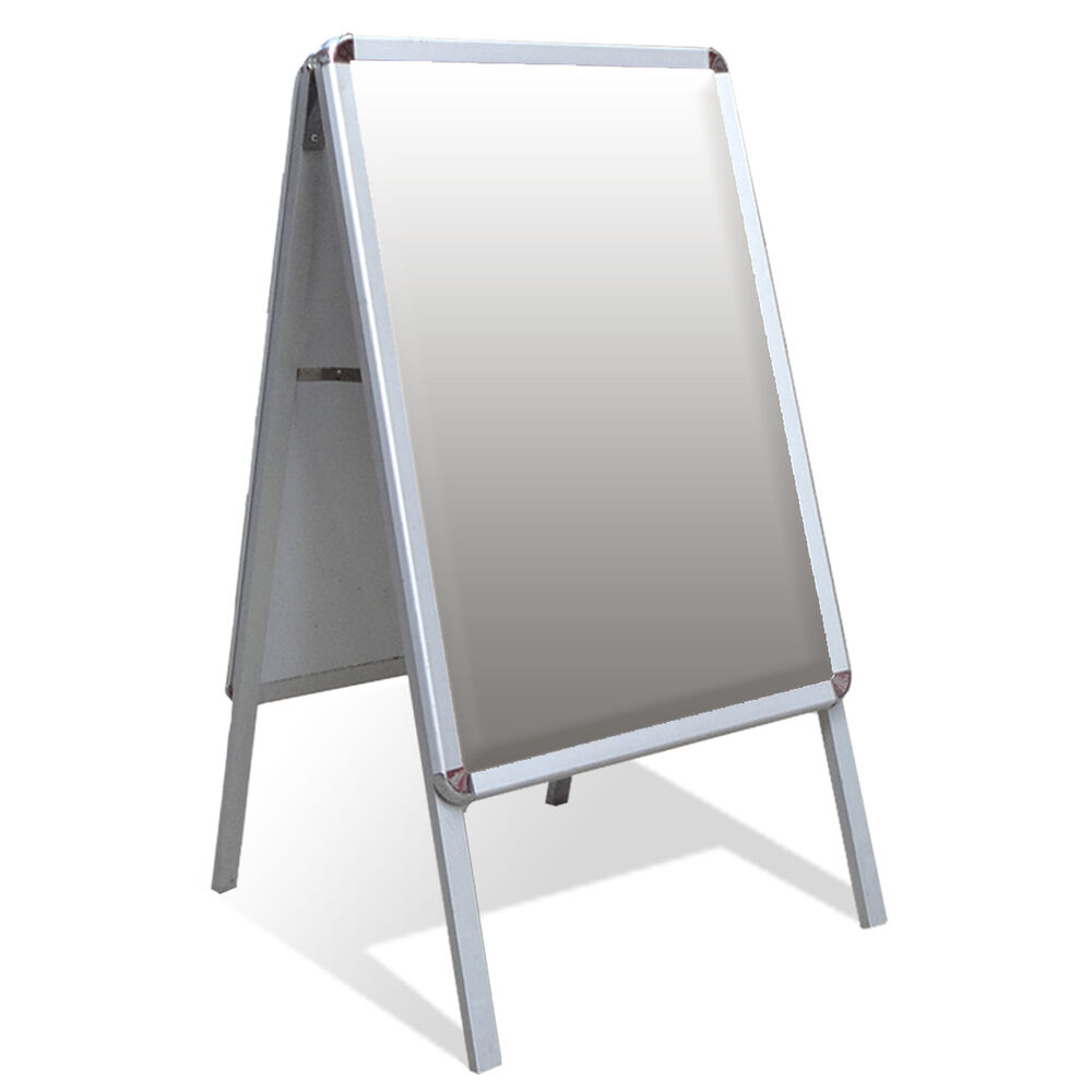 Exhibition Stand Frames : A board pavement sign poster snap frame display stand