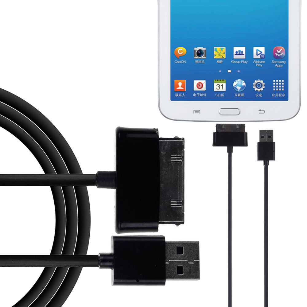 1m 3ft Usb Data Charger Cable For Samsung Galaxy Tab