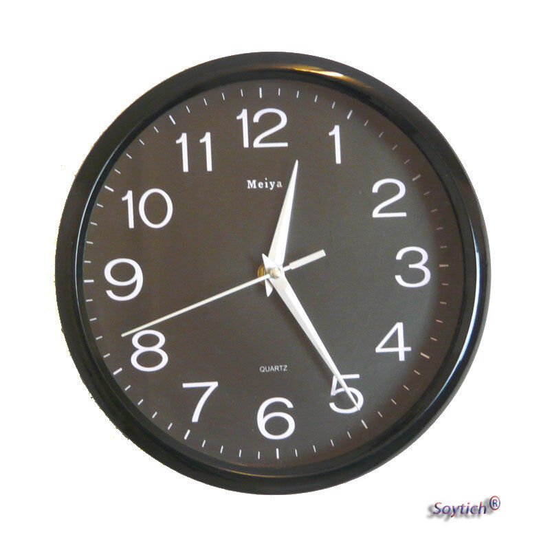 design wanduhr b rouhr k chenuhr wall clock modell mj1122 ebay. Black Bedroom Furniture Sets. Home Design Ideas