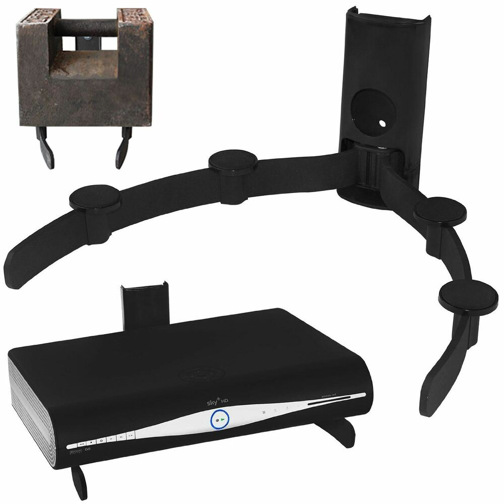 sky virgin box dvd xbox one ps4 av universal wall mount. Black Bedroom Furniture Sets. Home Design Ideas