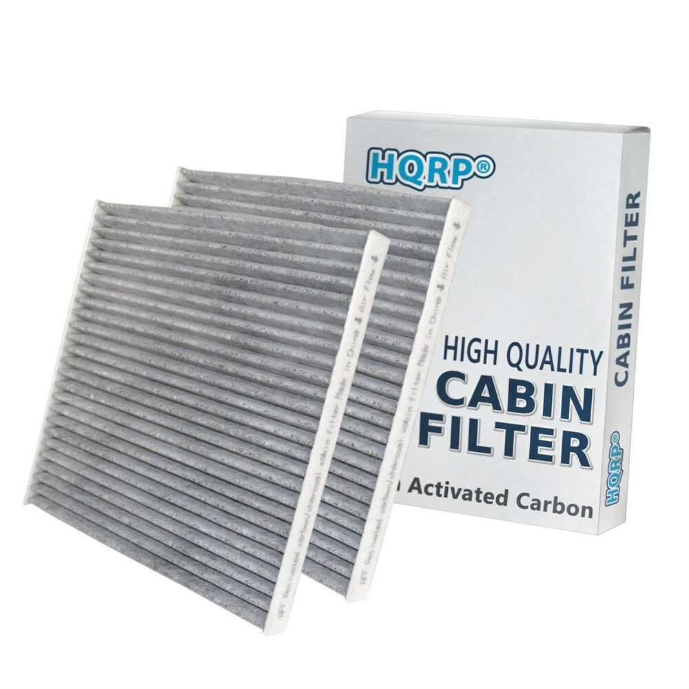 2 pack hqrp charcoal cabin air filter for toyota solara. Black Bedroom Furniture Sets. Home Design Ideas