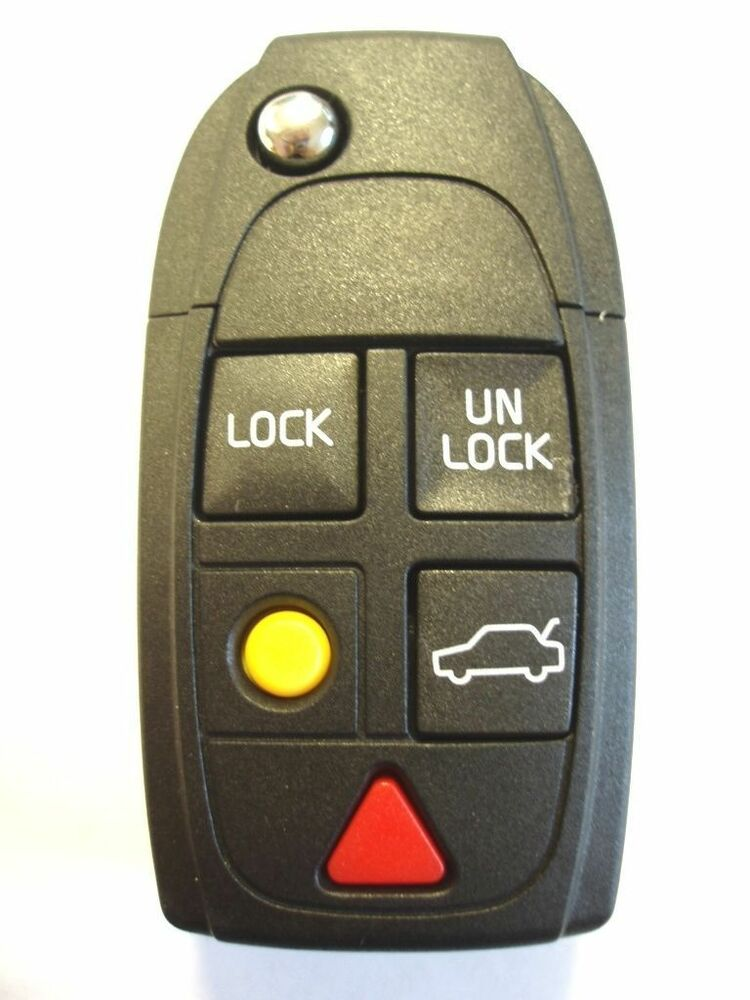 REPLACEMENT 5 BUTTON FLIP KEY FOB CASE FOR VOLVO S60 S80 XC90 REMOTE KEY | eBay
