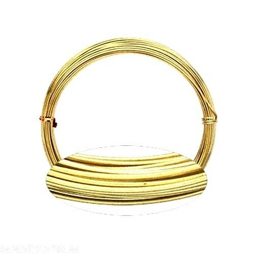 aluminum craft jewelry wire 16ga gold 45 ft 16 gauge