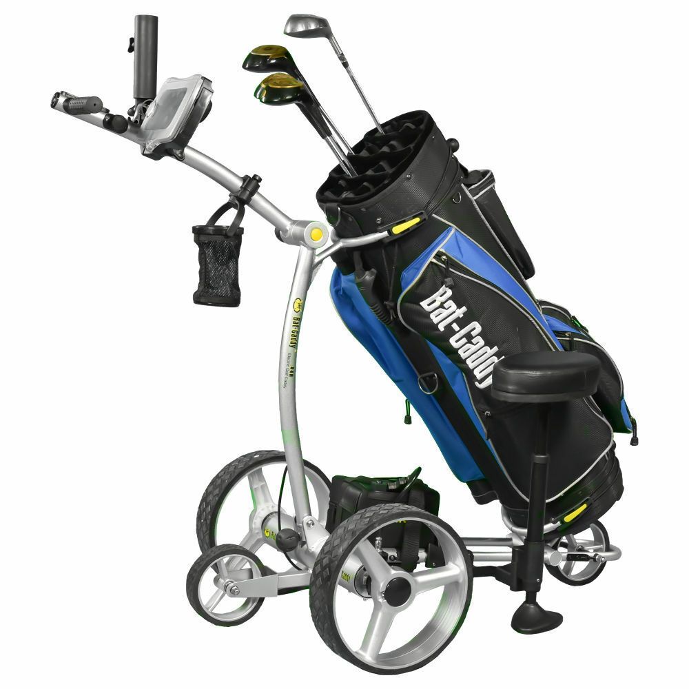 2018 Bat Caddy X4r Remote Control Electric Golf Bag Cart