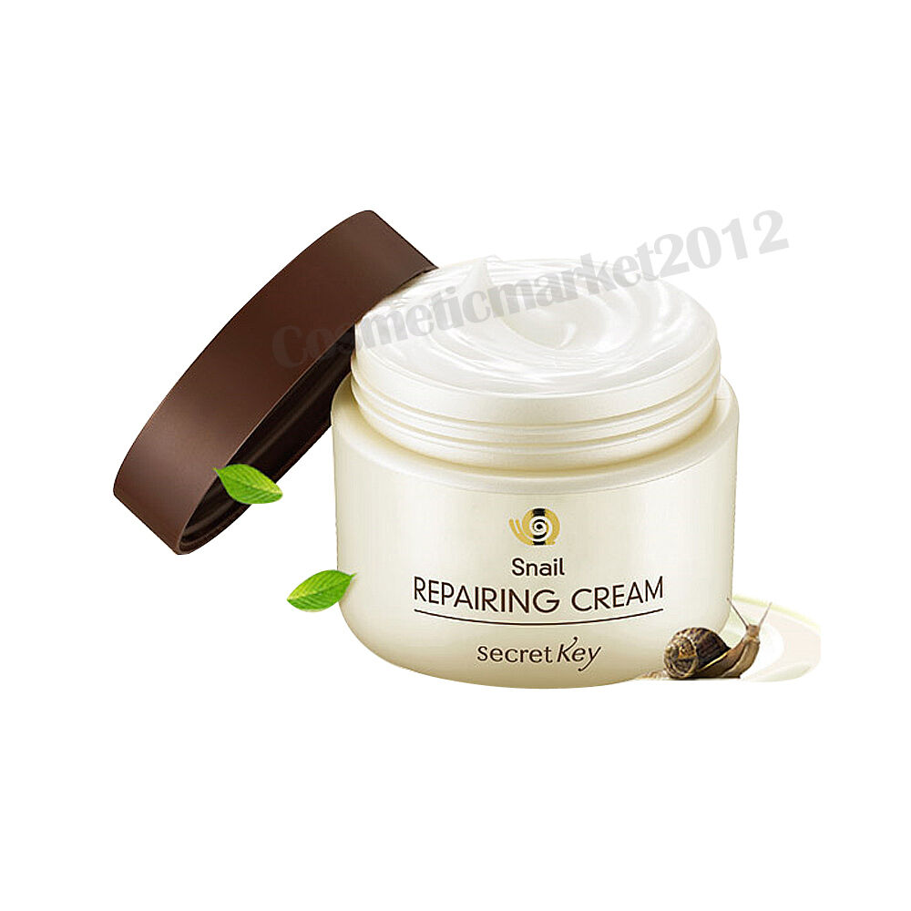 secret key snail repairing cream 50g free gifts ebay. Black Bedroom Furniture Sets. Home Design Ideas