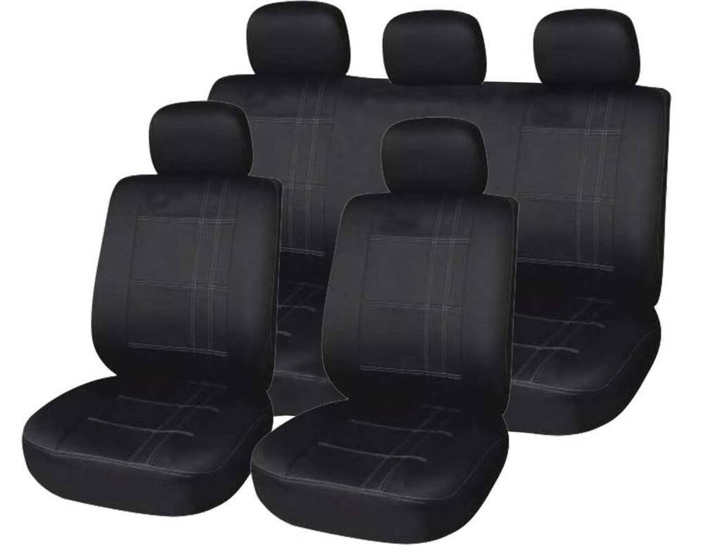 vauxhall astra vectra corsa front rear car seat covers universal fit ebay. Black Bedroom Furniture Sets. Home Design Ideas