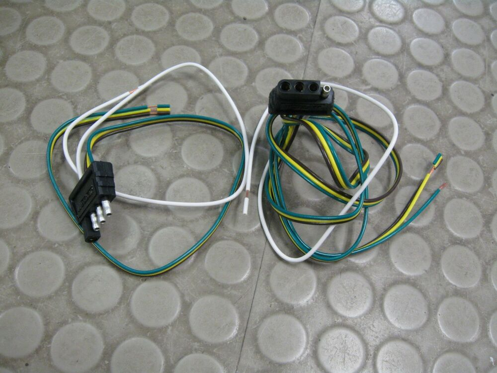 Trailer Wiring Diagram 4 Flat Get Free Image About Wiring Diagram