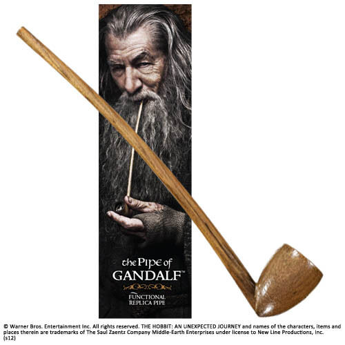 The Hobbit Gandalf S Pipe Noble Collection Working Replica