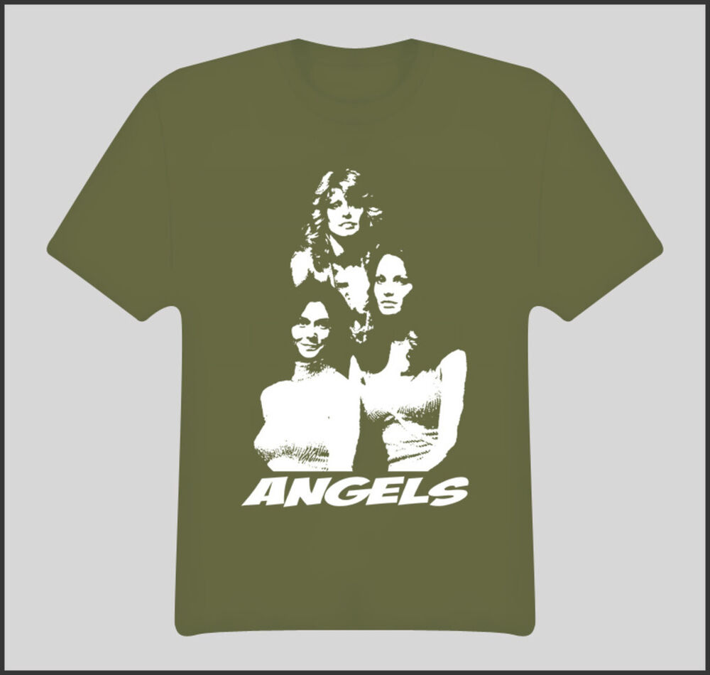 charlies angels tv show movie t shirt ebay