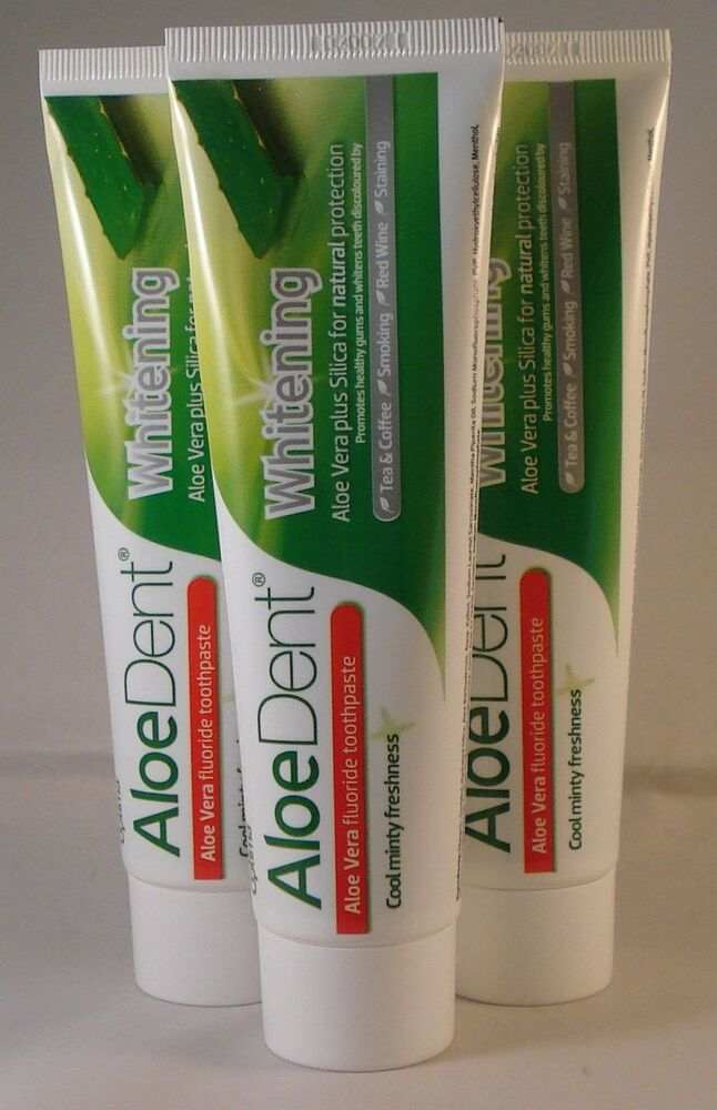 Aloe vera teeth whitening