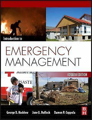 books introduction emergency management haddow