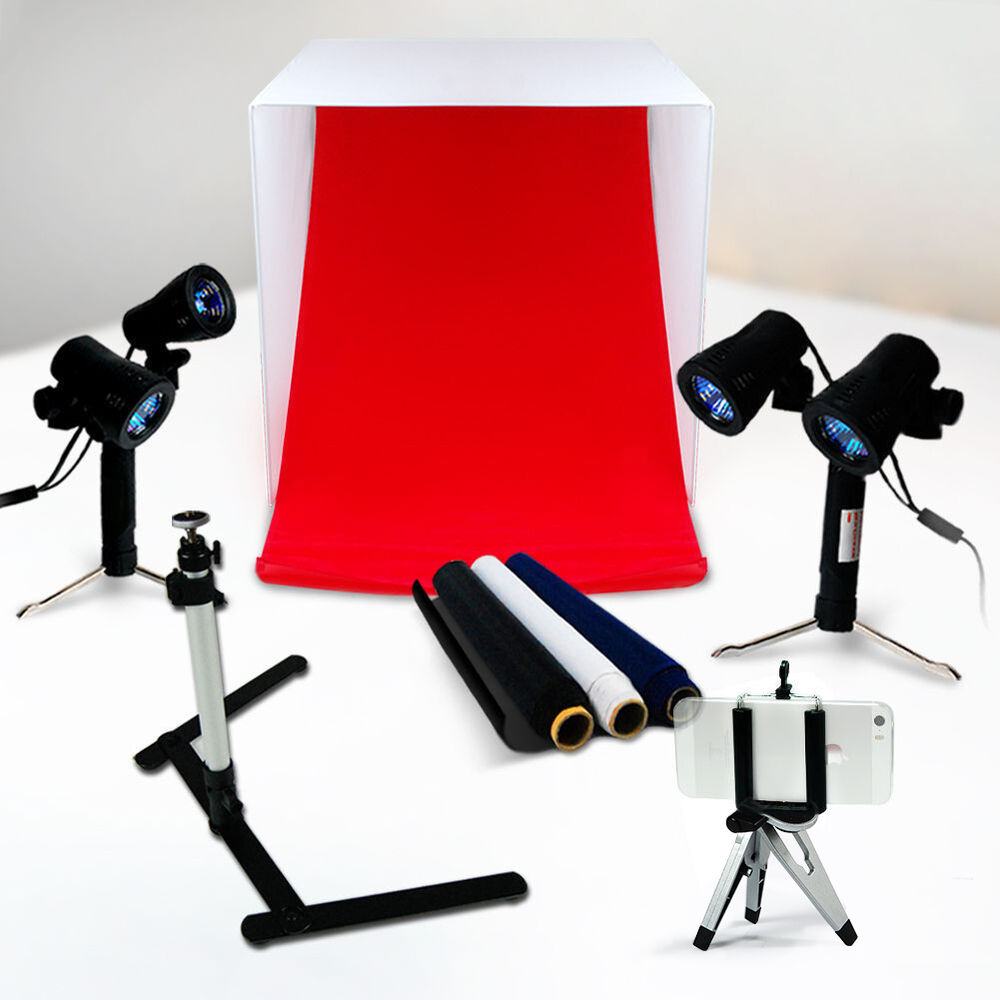 Optex Photo Studio Lighting Kit Review: Lusana Photo Studio Lighting Photography Lighting Box