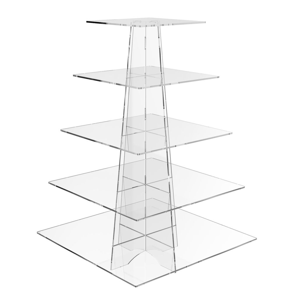 Square Acrylic Cake Stand