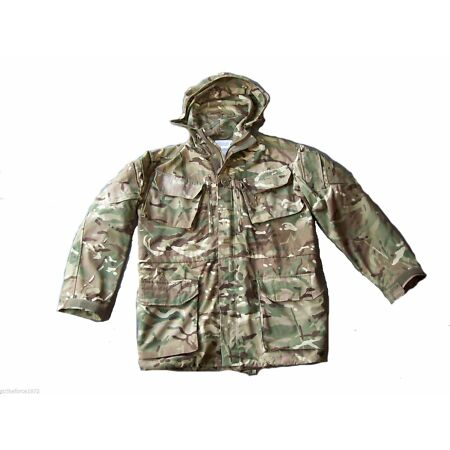 img-NEW - Army Issue PCS MTP Multicam Windproof Hooded Combat Smock - Size 180/96