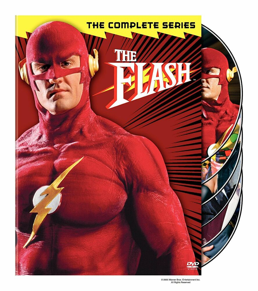 the flash the complete series brand new 6 disc dvd set. Black Bedroom Furniture Sets. Home Design Ideas
