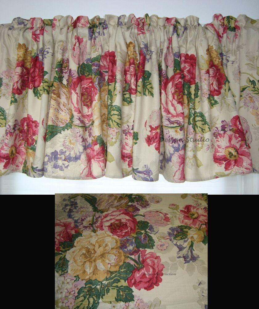 ... MW NEW RALPH LAUREN SURREY GARDEN FLORAL GREEN FABRIC TREATMENT | eBay