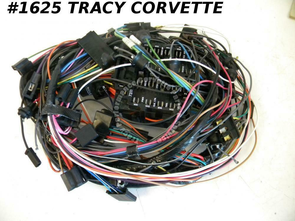 1976 corvette wire harness 1976 corvette new repro 8916199 dash wiring harness w ... 1976 dodge pickup wire harness