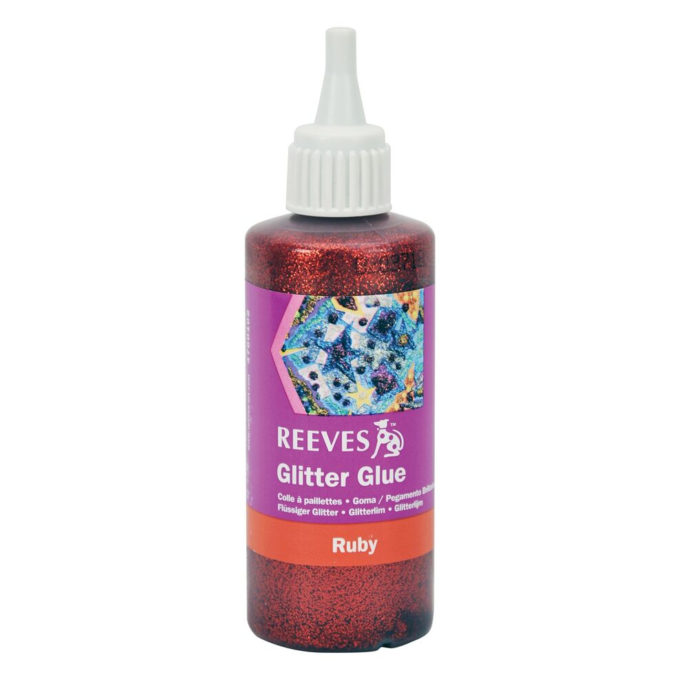 Glitter Glue And Paint Color Inspiration: 100ml TUBE CHRISTMAS RUBY RED GLITTER GLUE PAINT