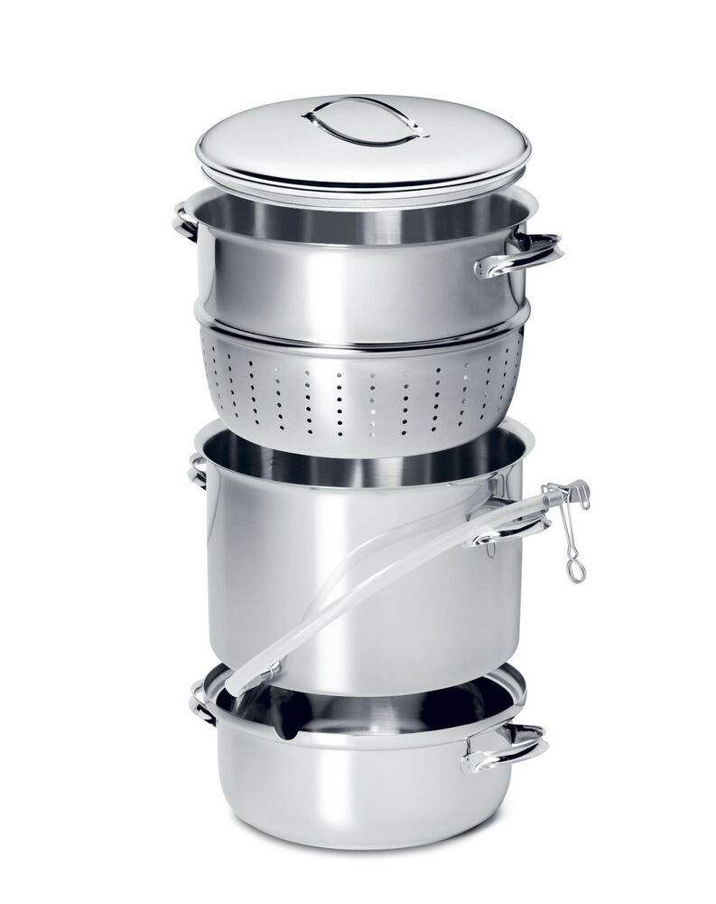 MehuLiisa 11 Litre Stainless Steel Steam Juicer ~NEW  ~ Entsafter Topf